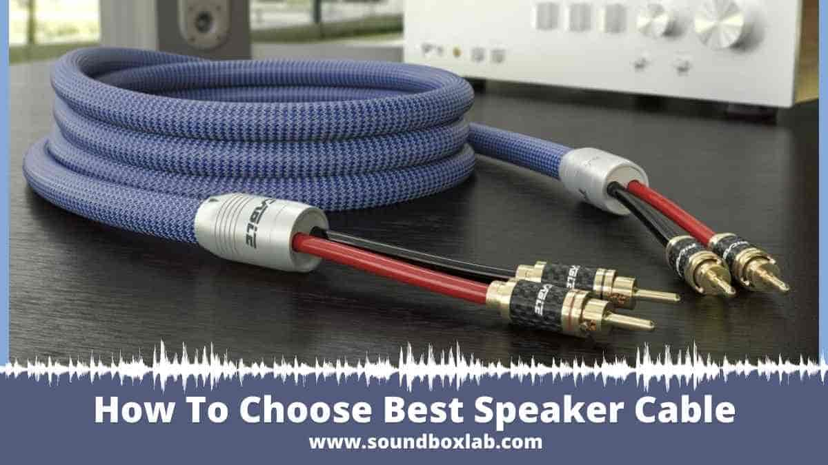 How To Choose Best Speaker Cable: Cable Types and Wire Gauge -AWG, Amp, Diameter Size, & Resistance
