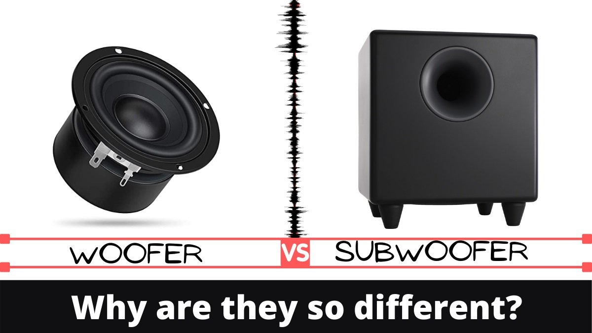 Woofer vs Subwoofer Why are they so different