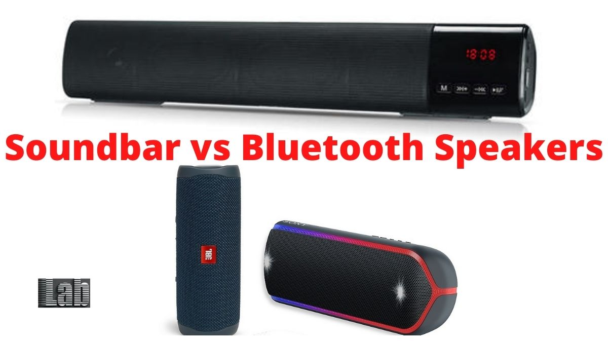 Soundbar vs Bluetooth Speakers: Which one is better for your Bedroom TV?