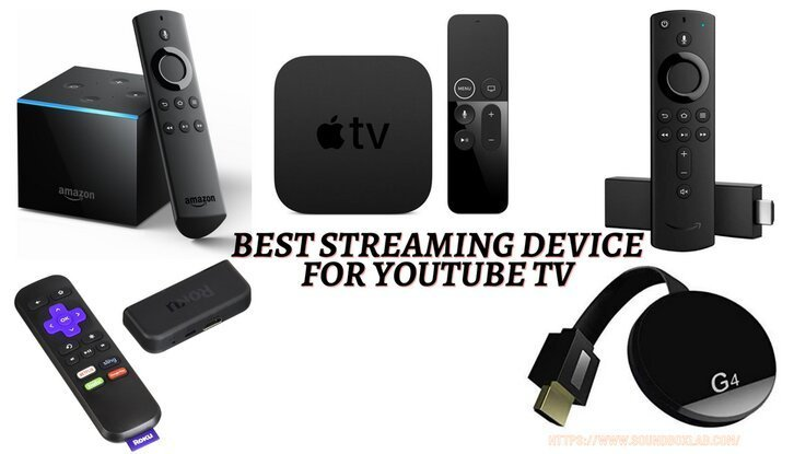 Best streaming device for YouTube TV_soundboxlab.com