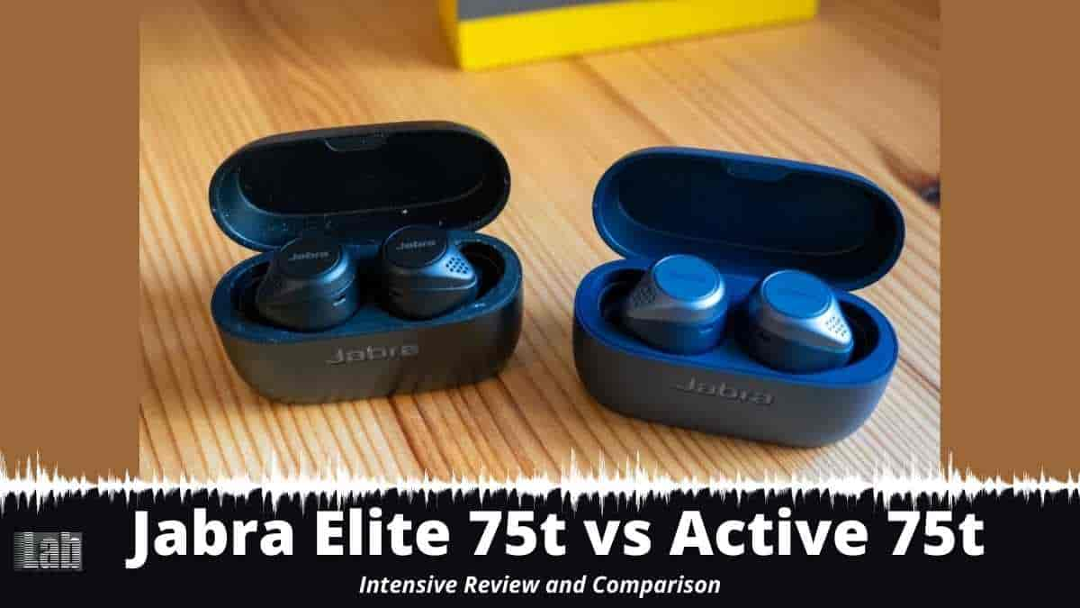 Jabra Elite 75t vs Active 75t Intensive Review and Comparison