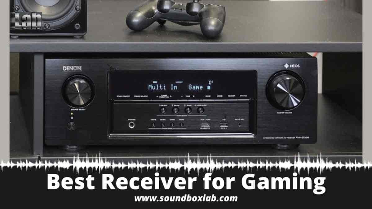 Best Receiver for Gaming PS5 and Xbox X