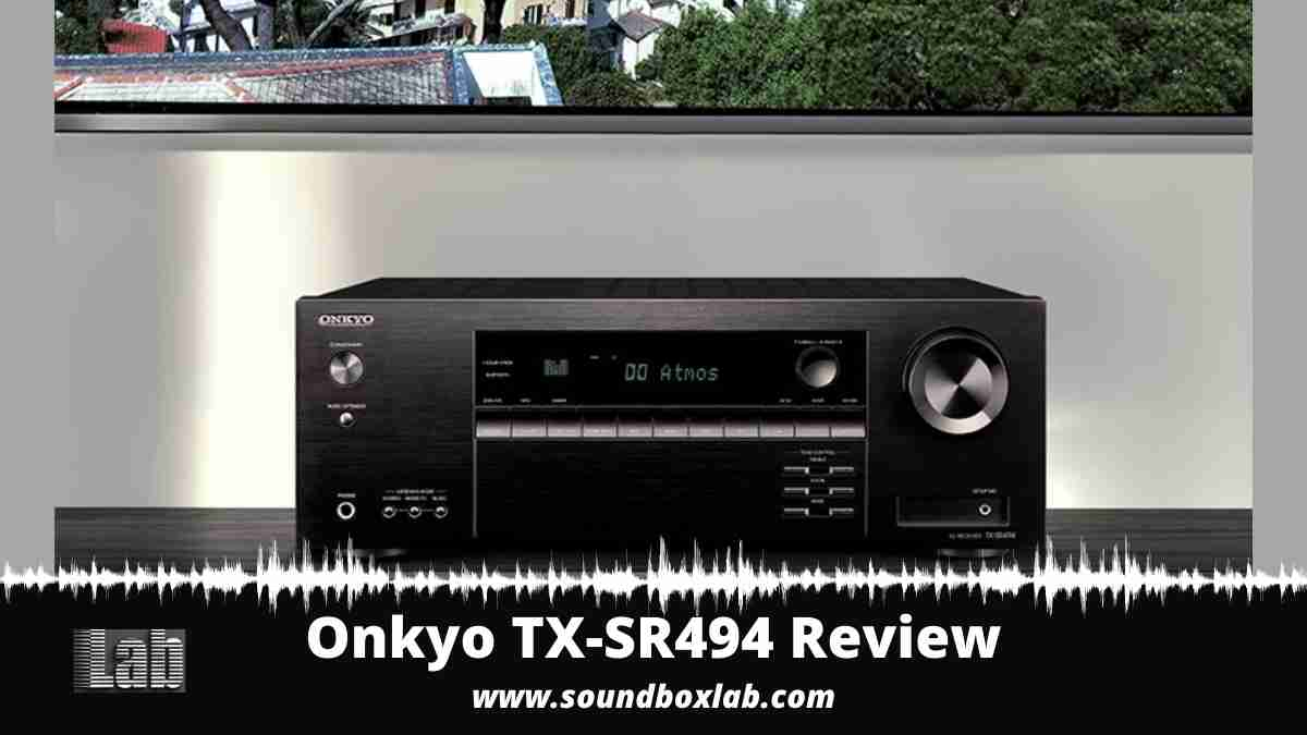 Onkyo TX-SR494 Review and Alternatives