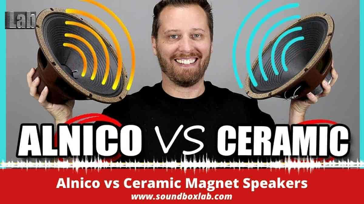 Alnico vs Ceramic Magnet Speakers Details Report and Buying Guide
