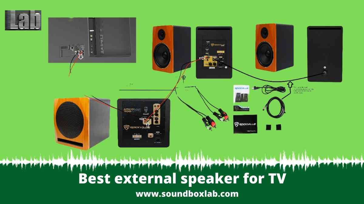 Best external speaker for TV Check The Compatibility First