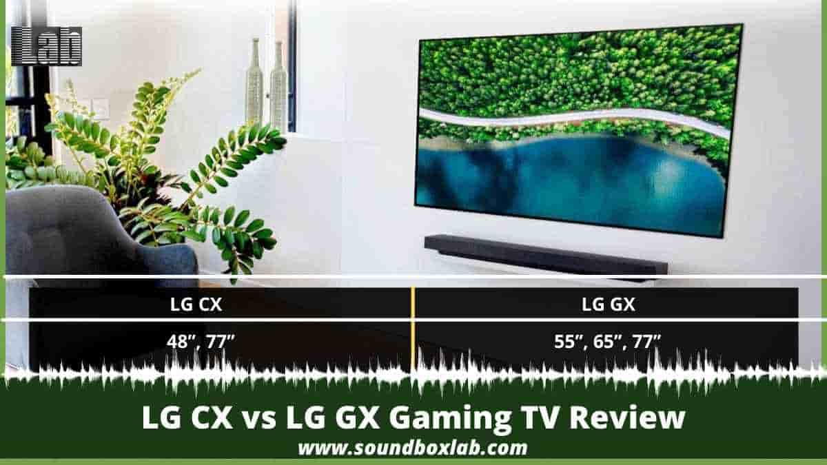LG CX vs LG GX Gaming TV Review Specially Made for PS5 And Xbox