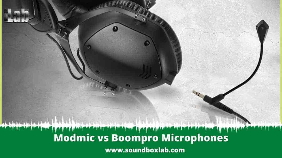 Modmic vs Boompro Microphones Review And Alternative